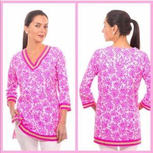 "GRETCHEN SCOTT | ""Coral Perfection"" Pink Tunic"